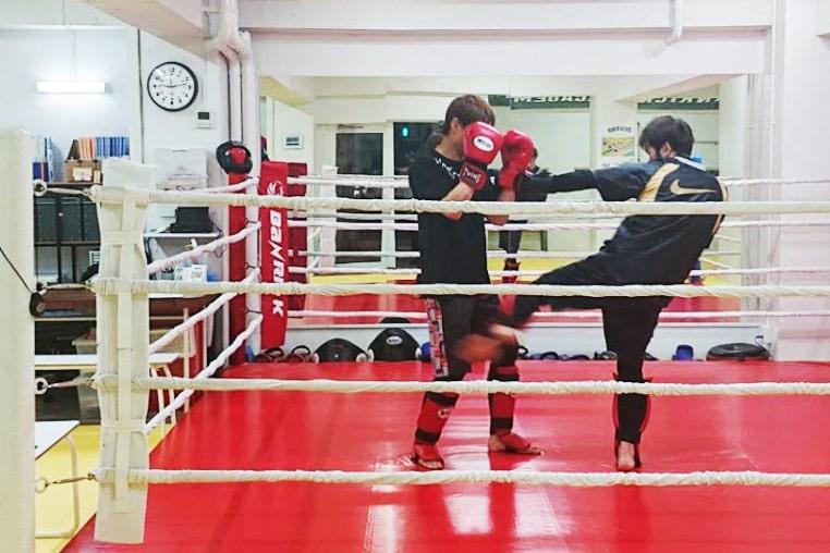キックボクシングジム バンリックアカデミー 大分校